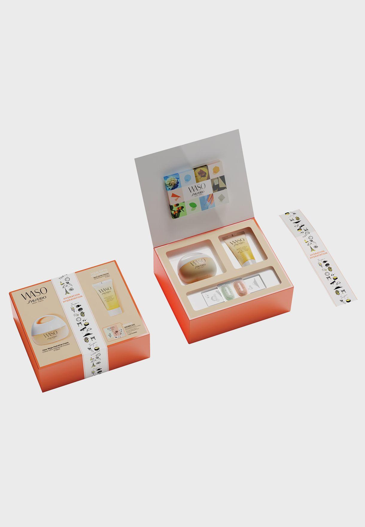 Waso - Mega-Hydrating Cream + Free Cleanser Set