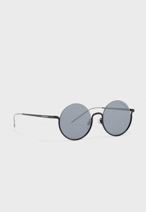 0EA2112 Round Sunglasses