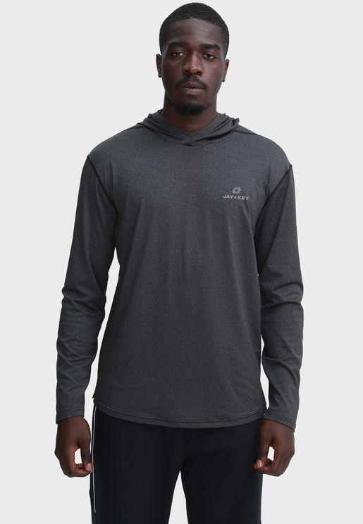 Essential Fitted Muscle Hoodie