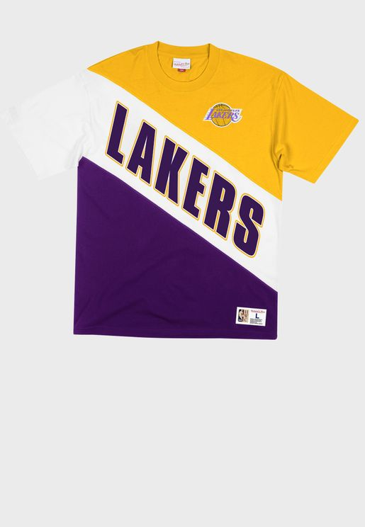 Los Angeles Lakers Play By Play T-Shirt