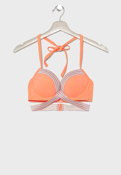 Dominica Strappy Bikini Top