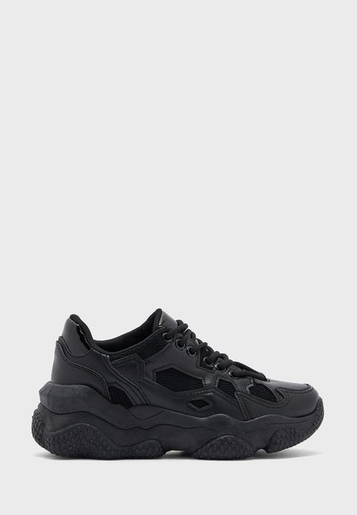 Chunky Textured Sneaker