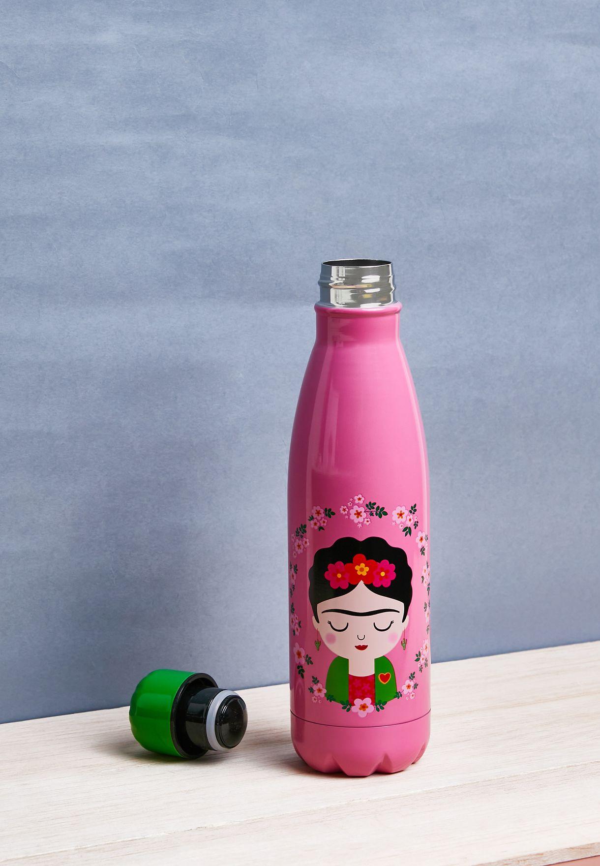 Frida Metal Water Bottle