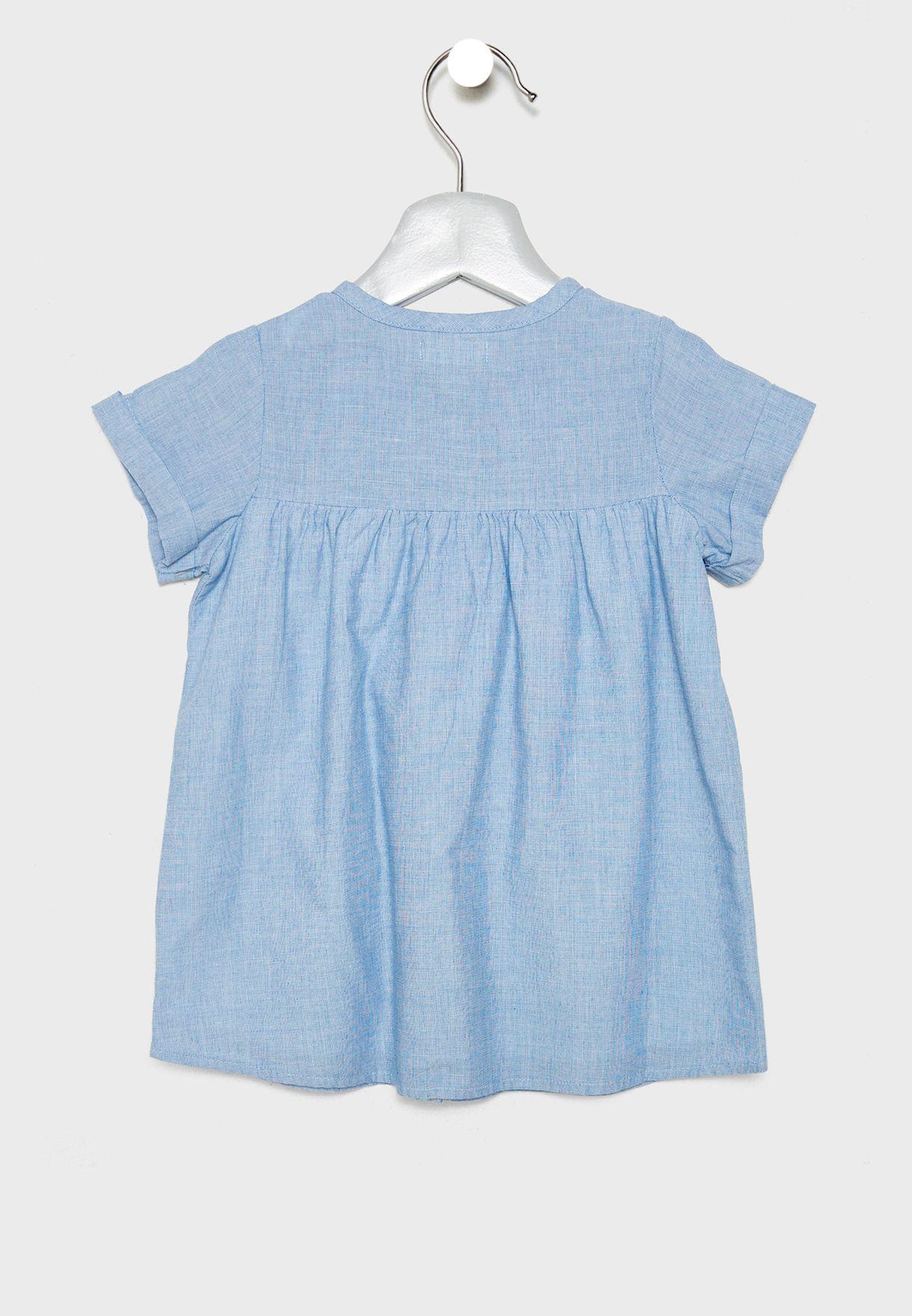 Infant Button Down Dress