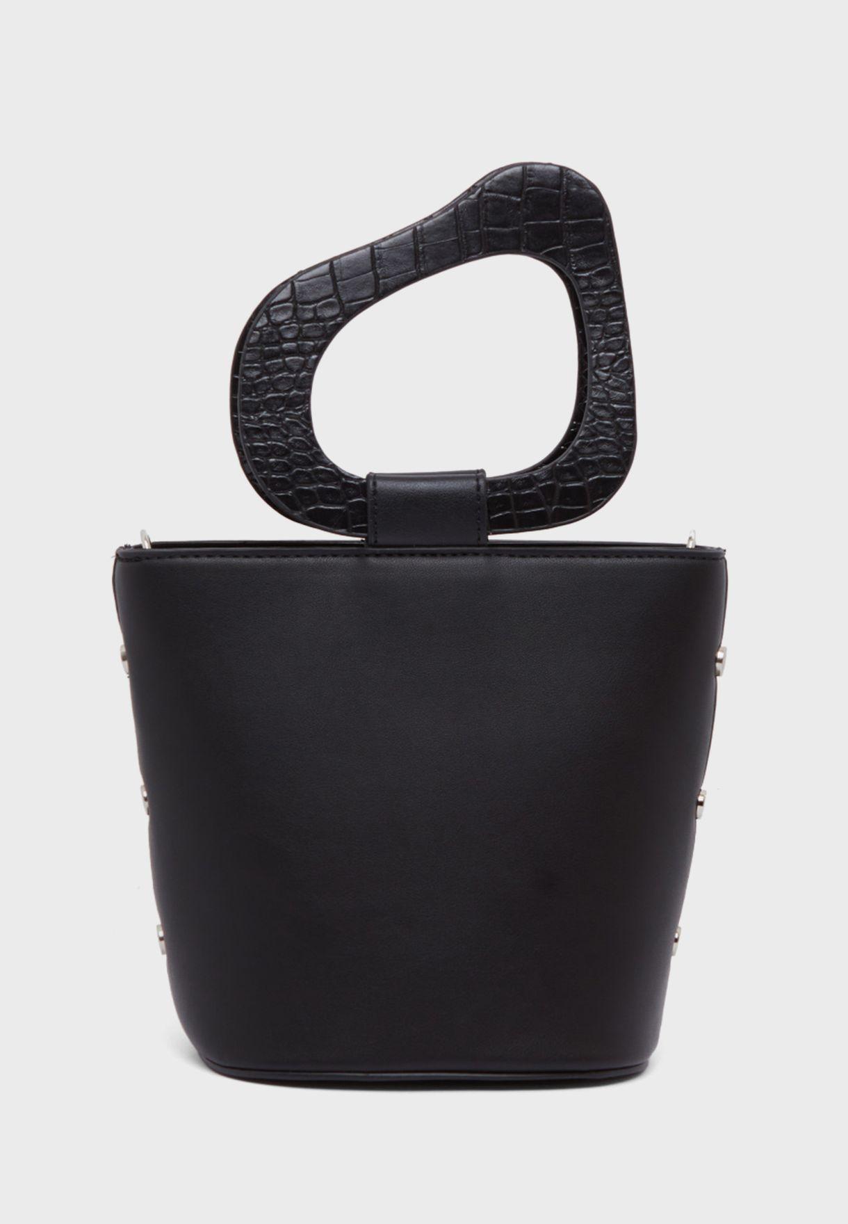 Round Handle Basket Tote