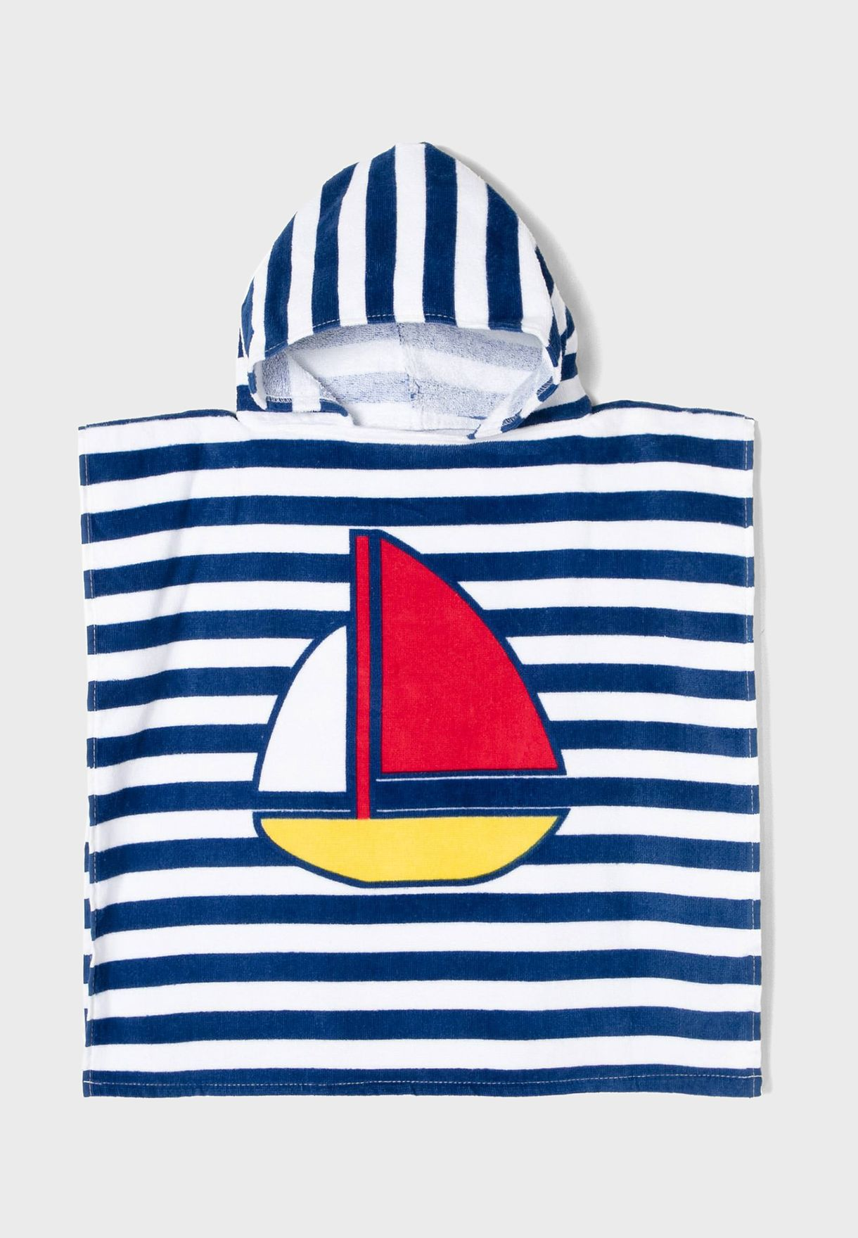 Kids Striped Hooded Towel