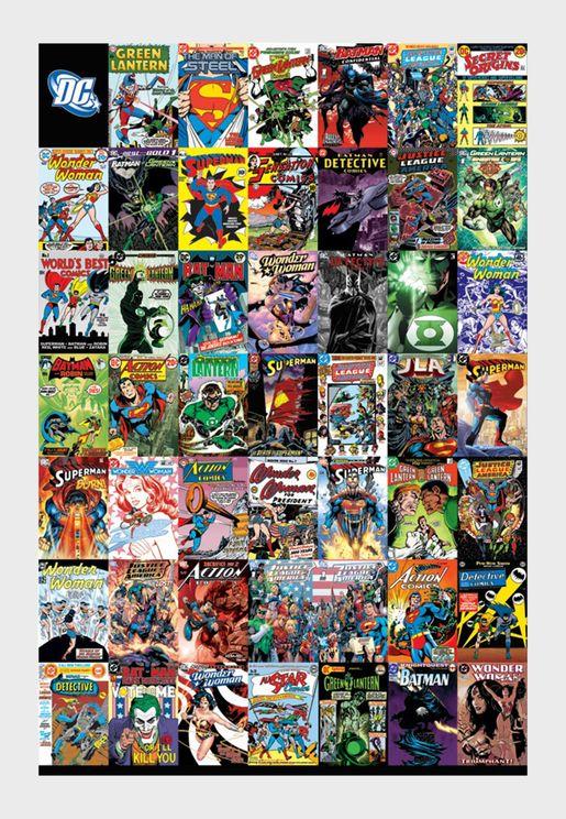 Dc Comics Montage Maxi Poster
