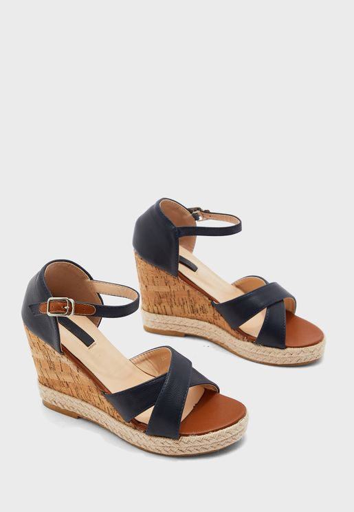 Stephanie Wedge Sandal