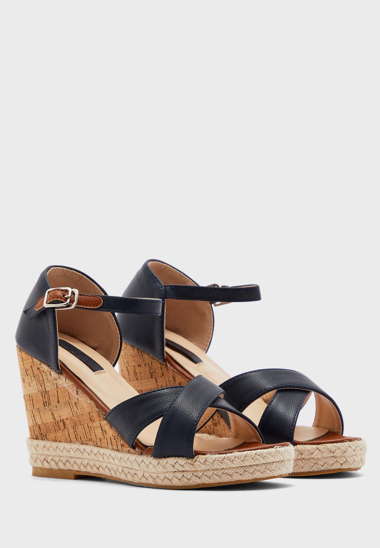 Stephanie Wedge Sandal