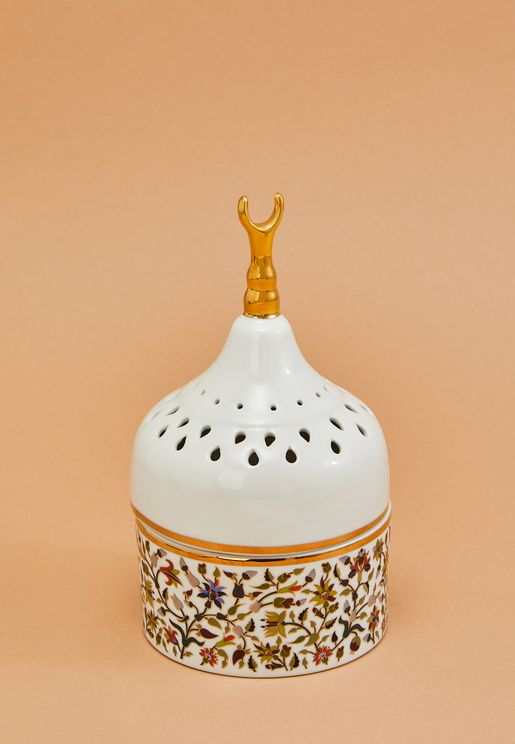 Perforated Majestic Porcelain Mabkhar