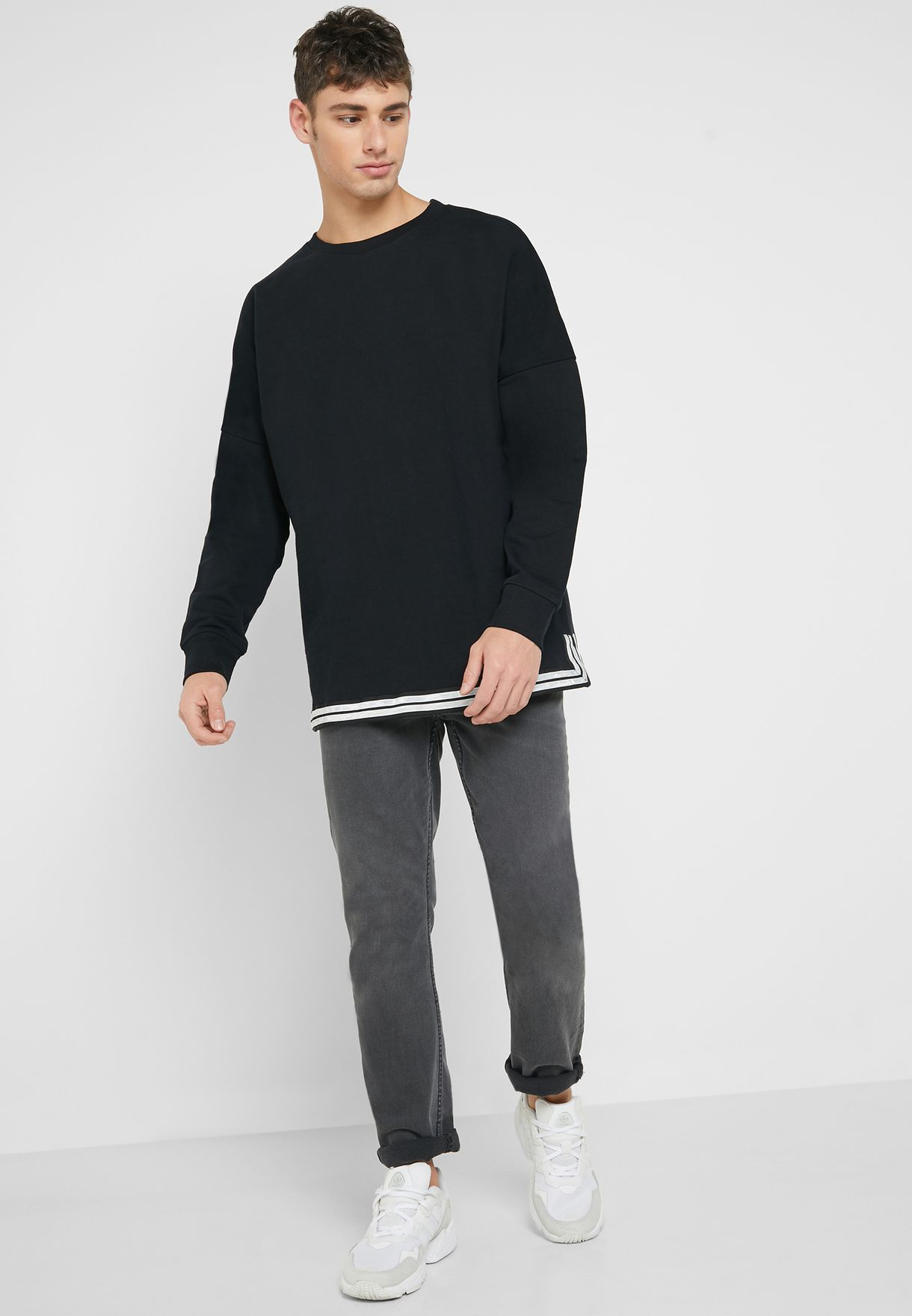 Drop Shoulder Sweatshirt