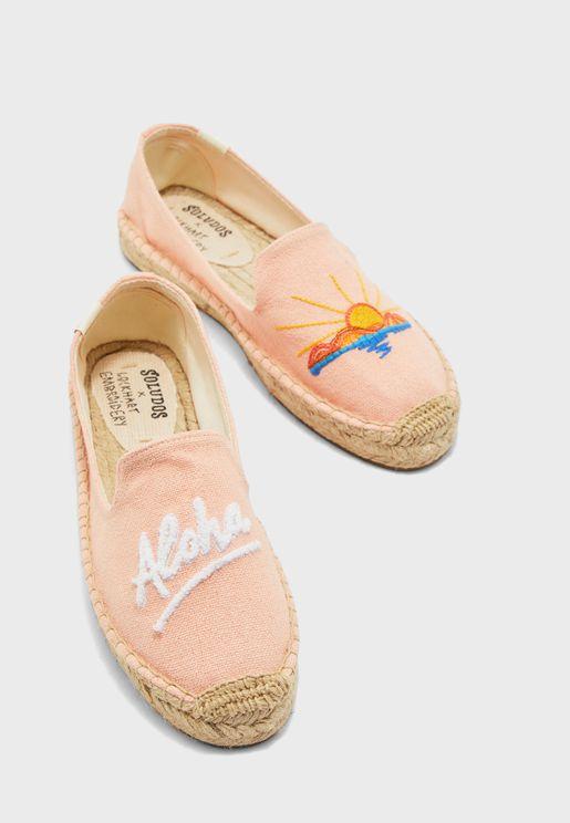 حذاء بلاتفورم سهل الارتداء - ليفينغ كورال