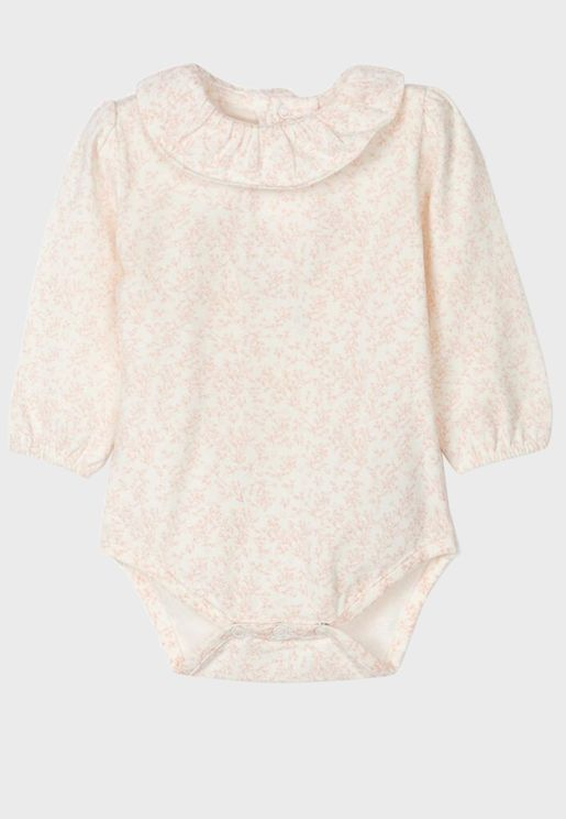 Infant Floral Bodysuit