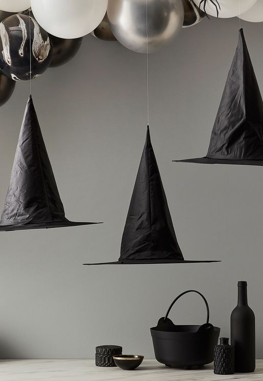 Halloween Hanging Witches Hats