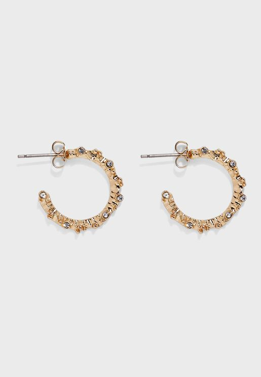 Nanya Hoop Earrings
