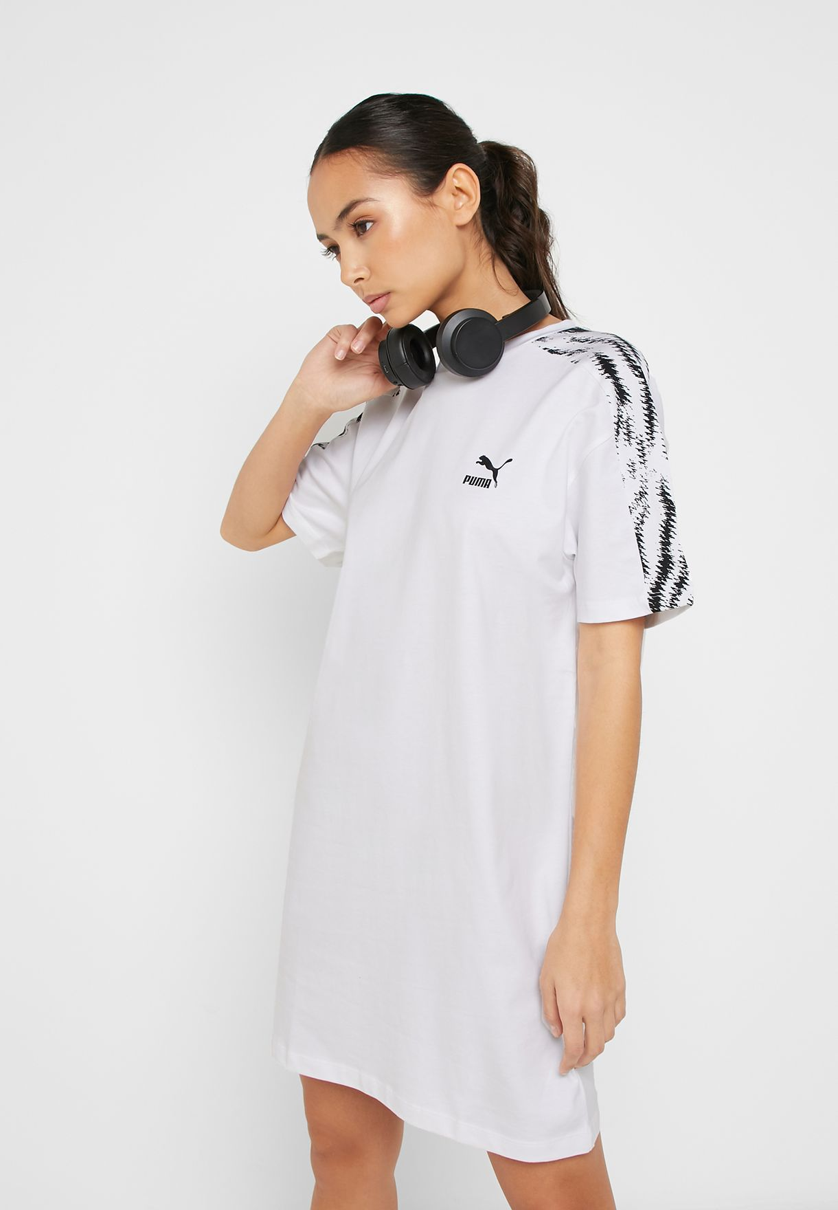 Buy PUMA white Wild Pack Dress for