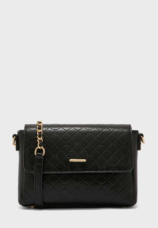 Flap Detail Crossbody