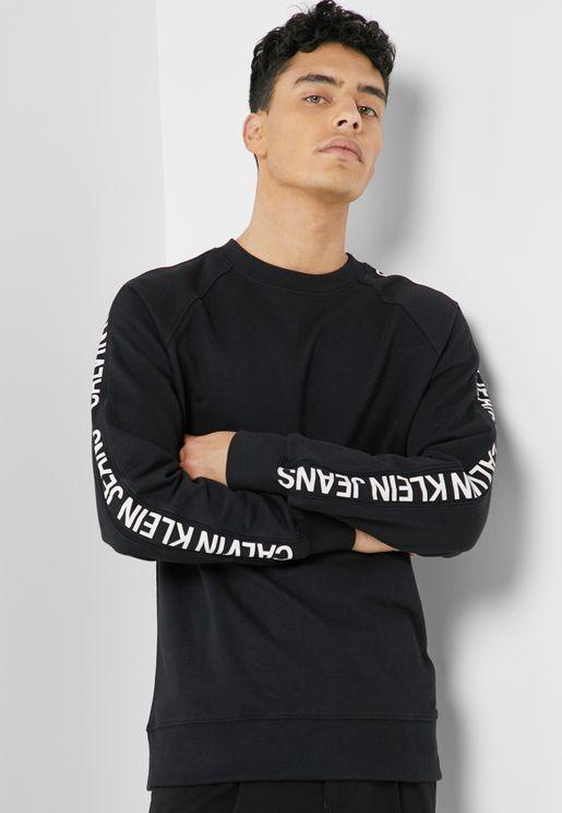 Institutional  Side Stripe Sweatshirt