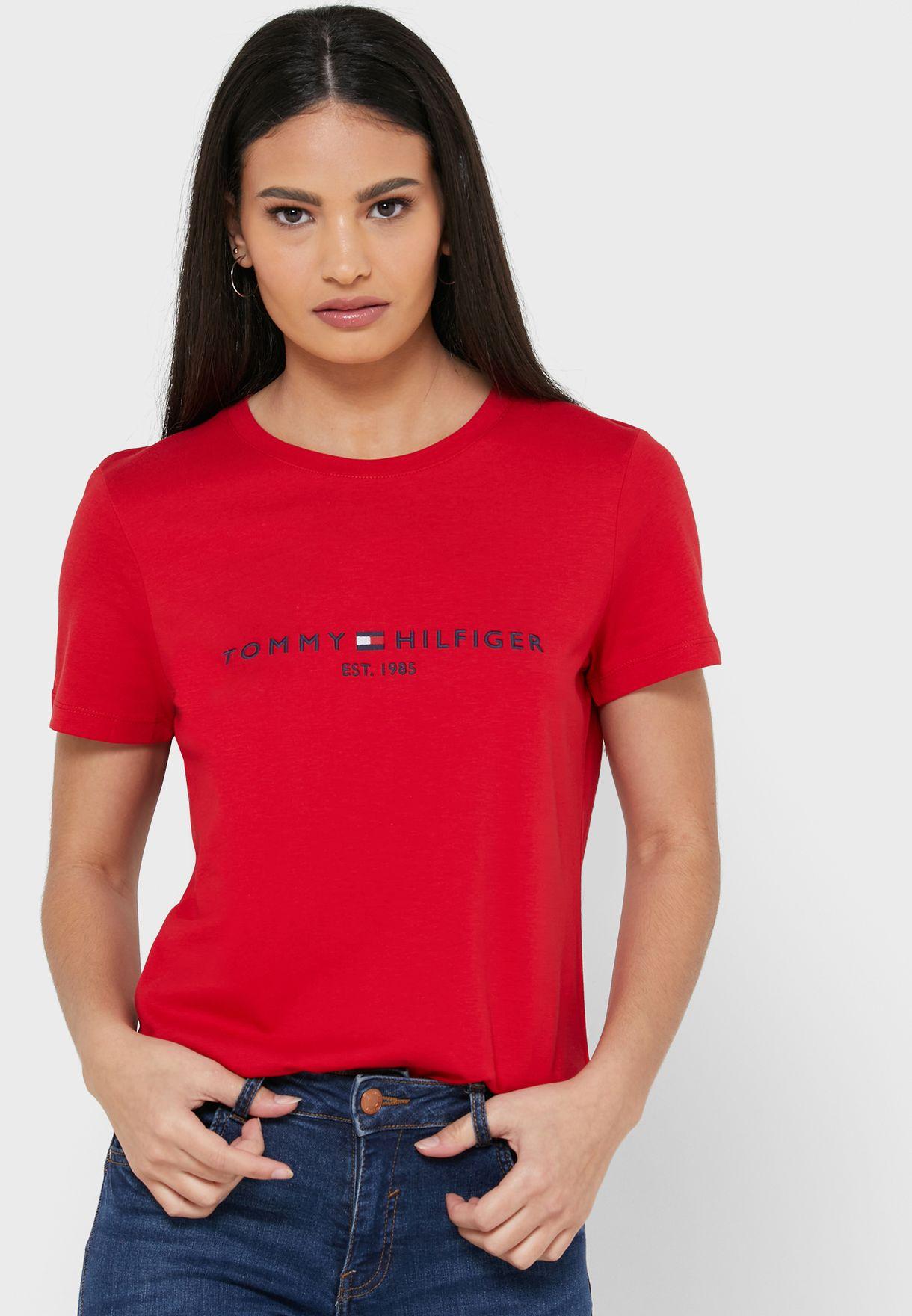 Round Neck Logo T-Shirt