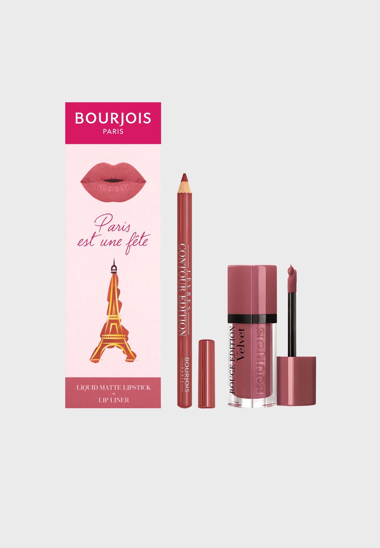 Rouge Edition Nude-ist Lip Kit, Savings 25%