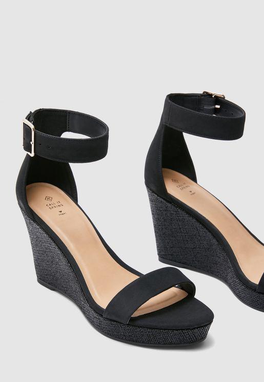 Josset Wedge Sandal