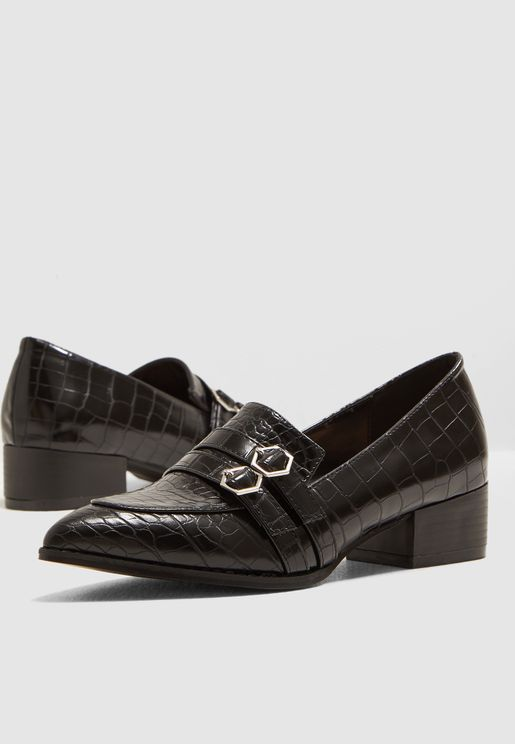 Double Strap Buckle Loafer