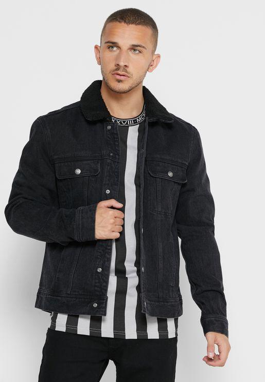 Denim Pocket Detail Jacket