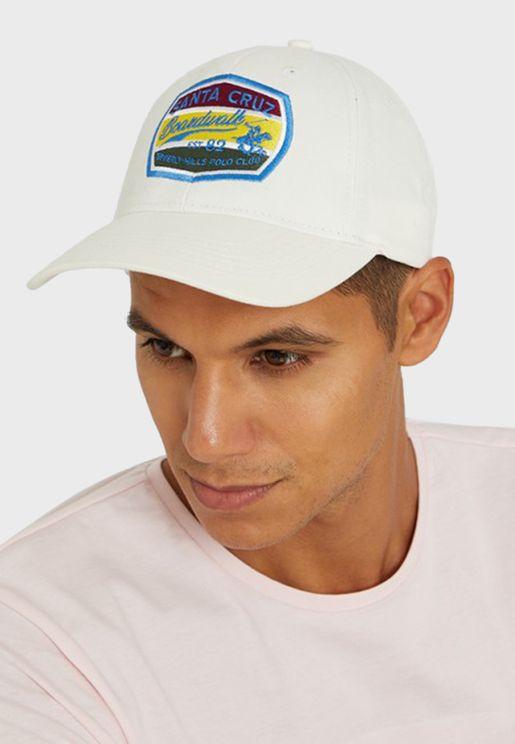 Logo Curved Peak Cap