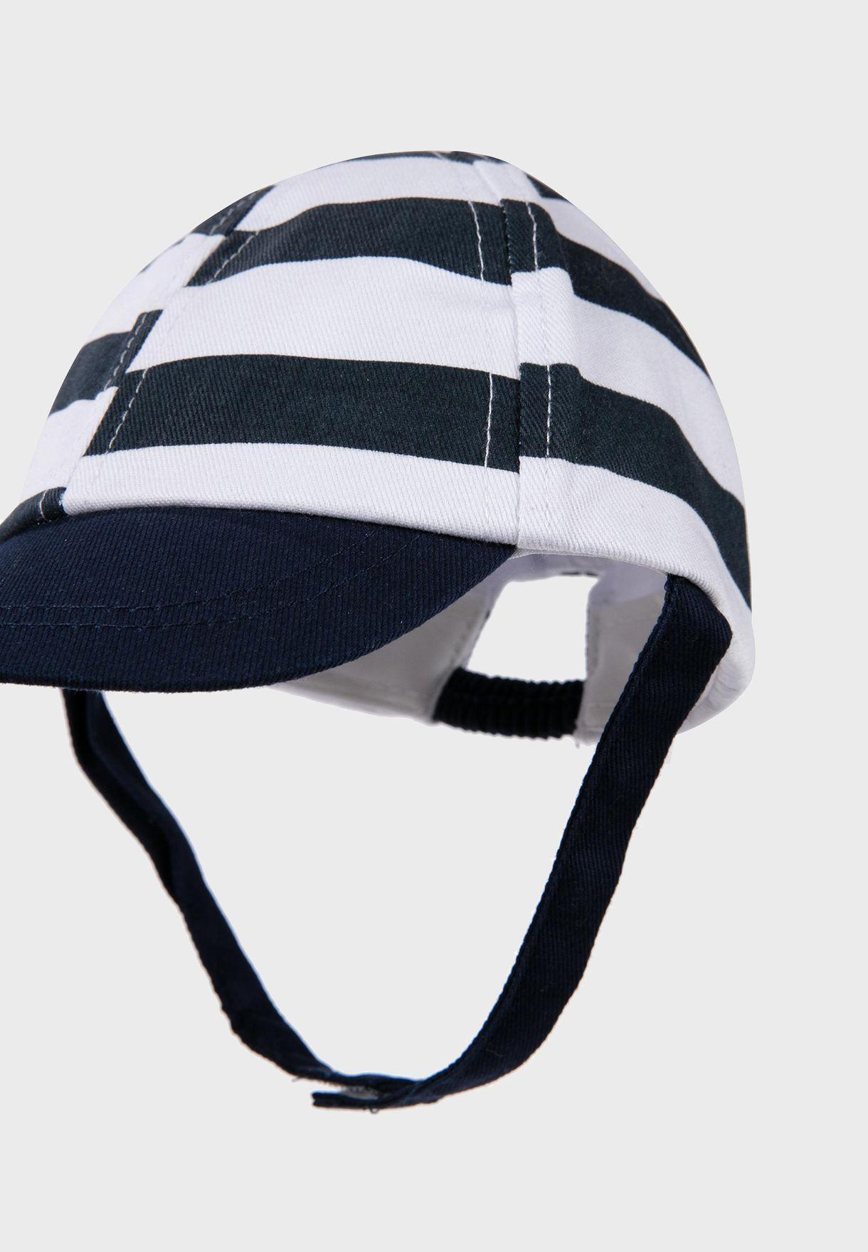 Infant Striped Cap