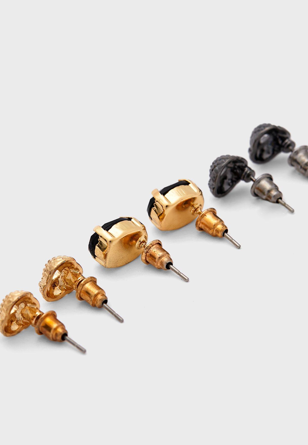 Multipack Stud Earrings
