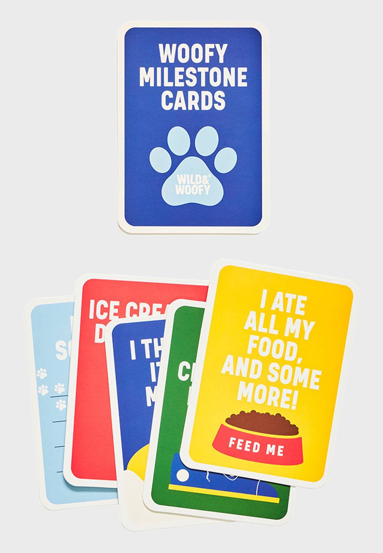 Dog Milestone Cards