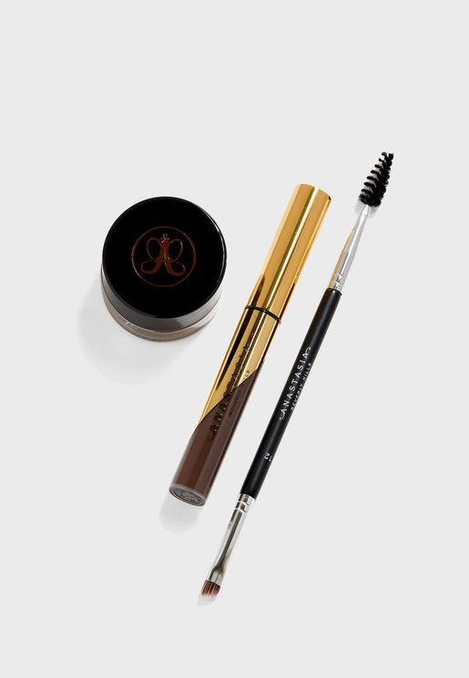 Melt Proof Brow Kit- Dark Brown