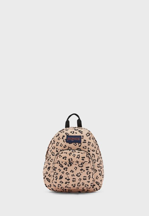 Kids Leopard Print Backpack