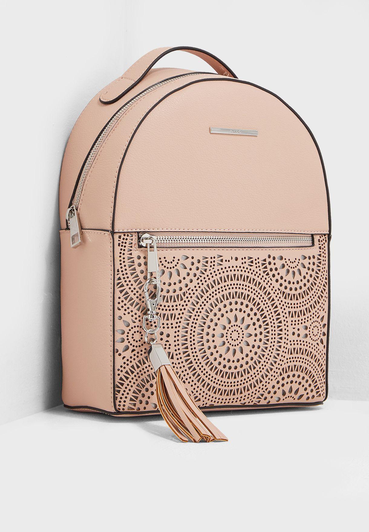 b71797d5c77 Shop Aldo pink Barmegona Backpack BARMEGONA55 for Women in Qatar ...
