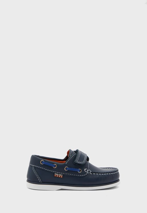 Junior Velcro Loafers