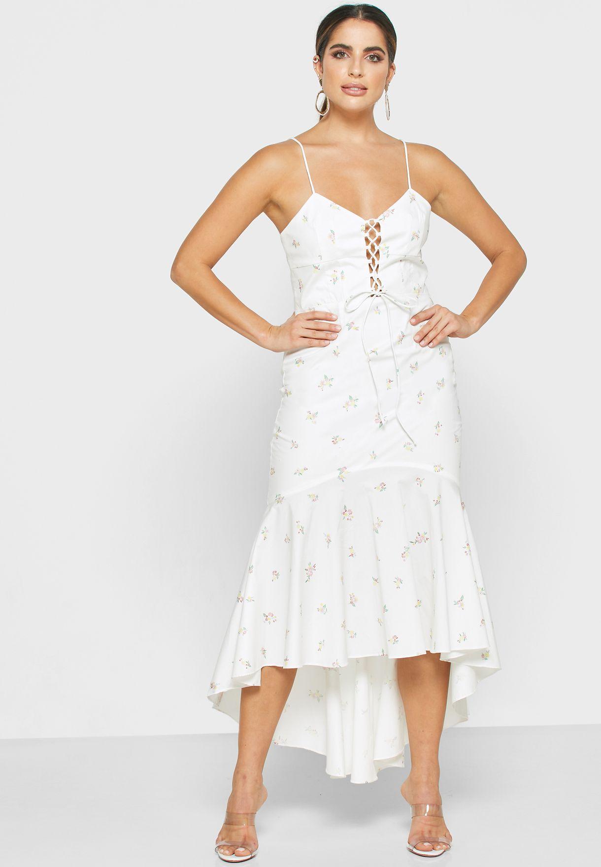 Cami Floral Print Dress