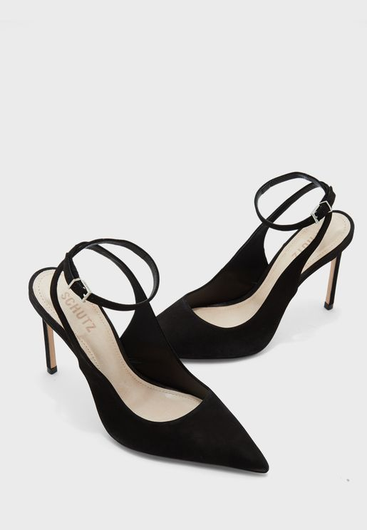 Ankle Strap Point Toe Pump