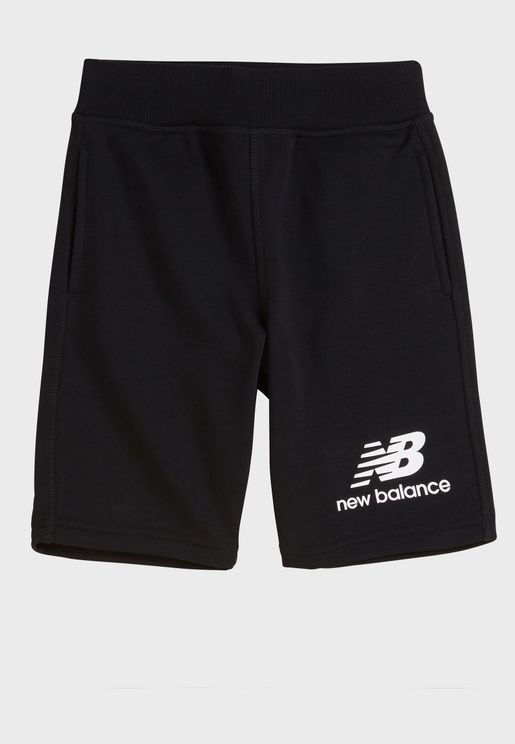 Youth Essential Stacked Fleece Shorts