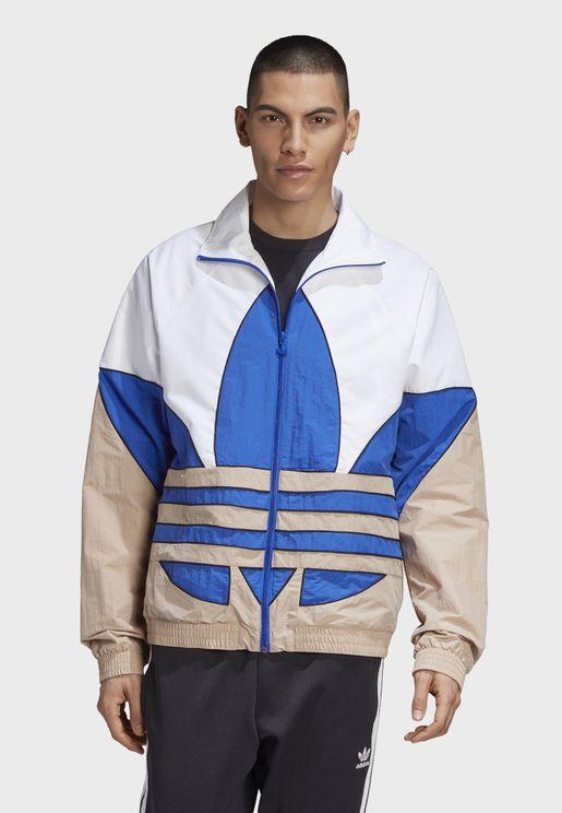 Big Trefoil Woven Track Jacket