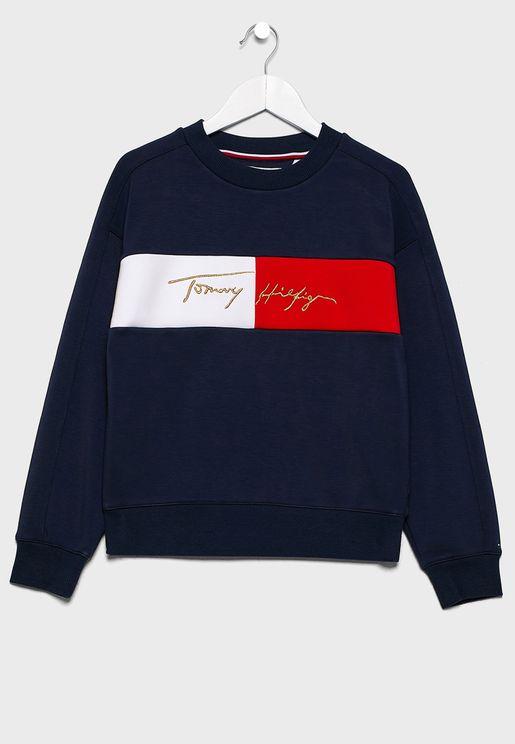 Teen Logo Sweatshirt