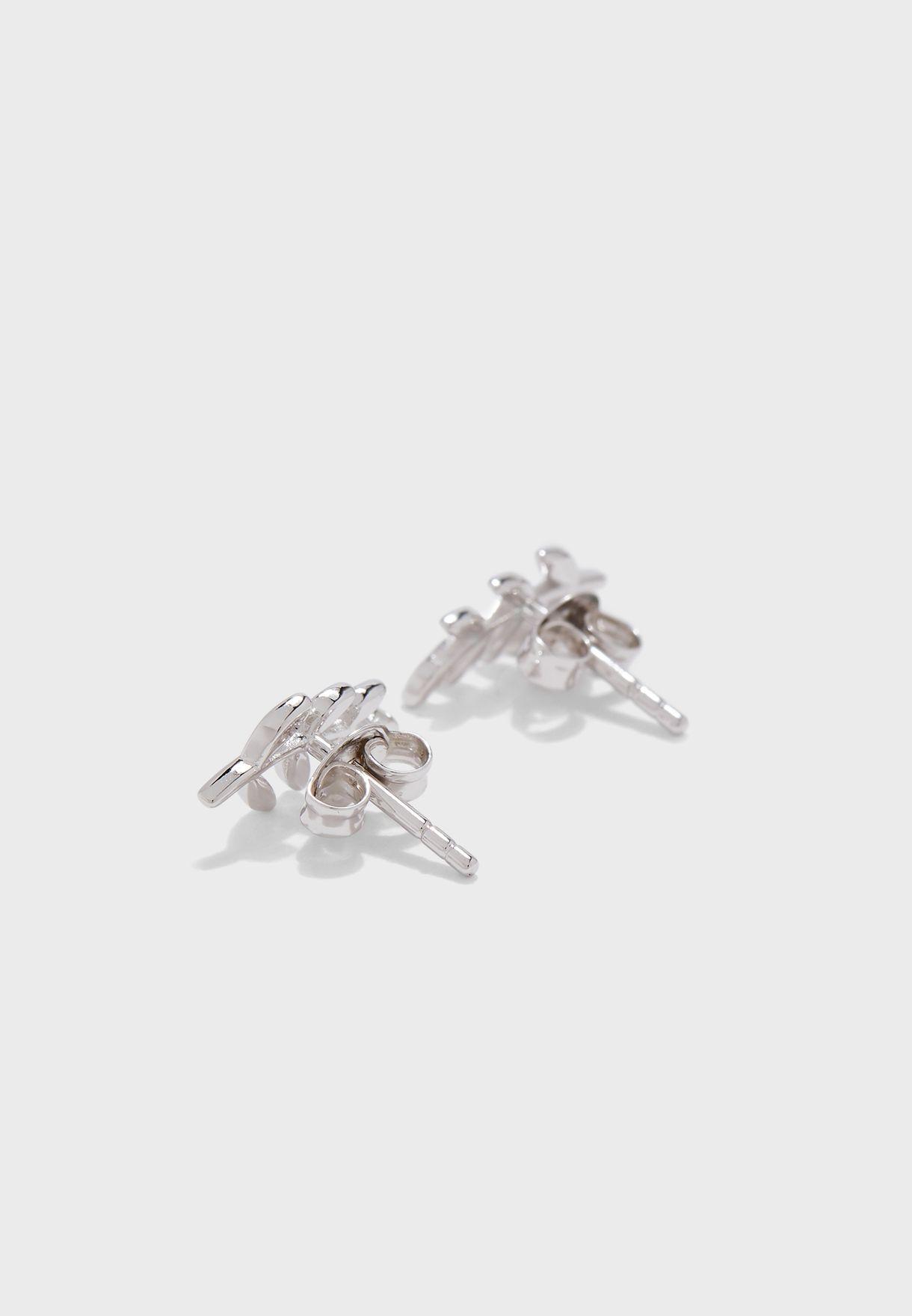 JFS00483040 Olive Branch Stud Earrings