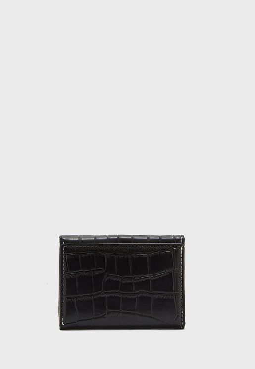 Croc Wallet Purse