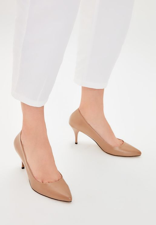 Kitten Heel Casual Pump