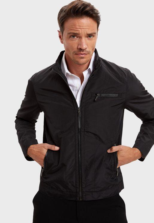 Zip Detail Pocket Jacket