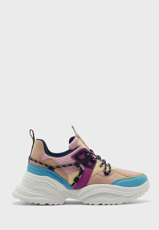 Chunky High Top Sneaker