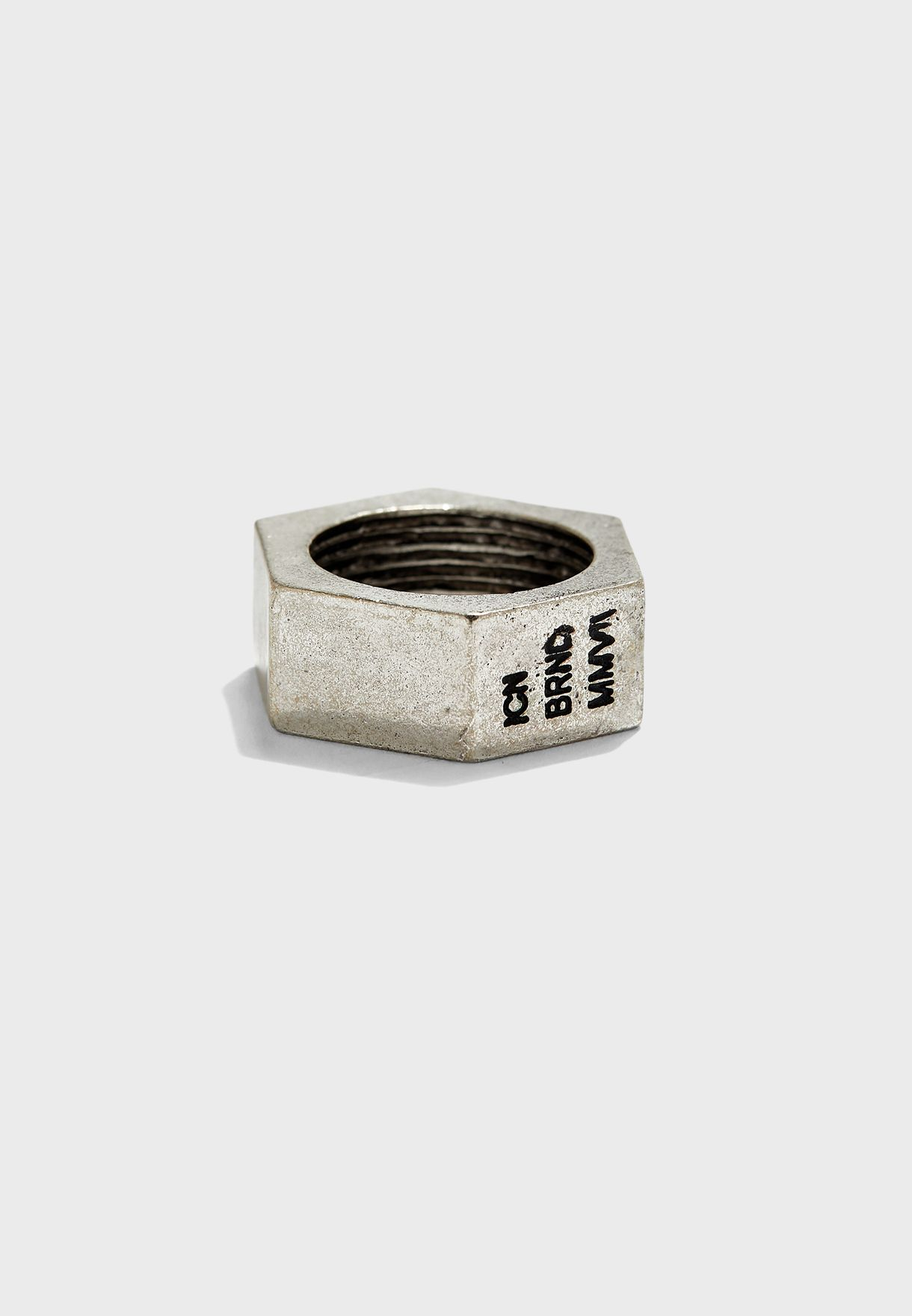 Nut Design Band Ring