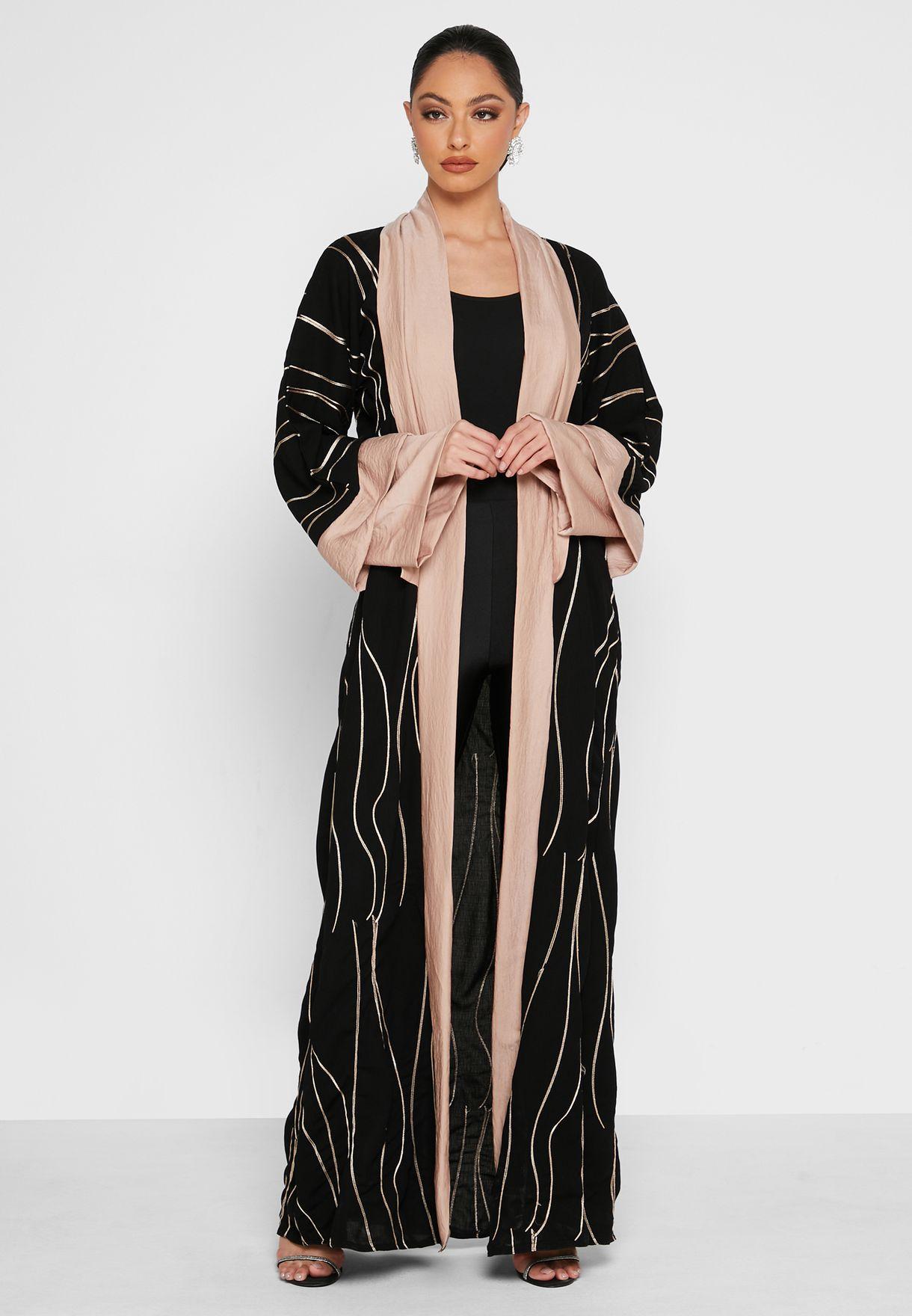 All Over Print Abaya