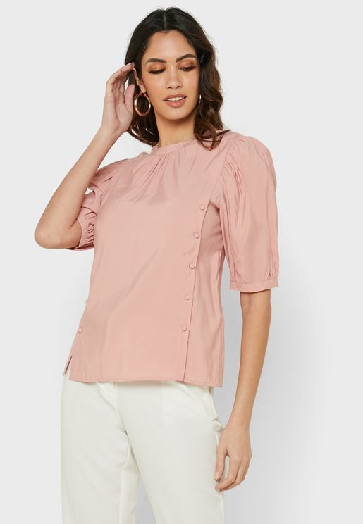 Button Detail Top