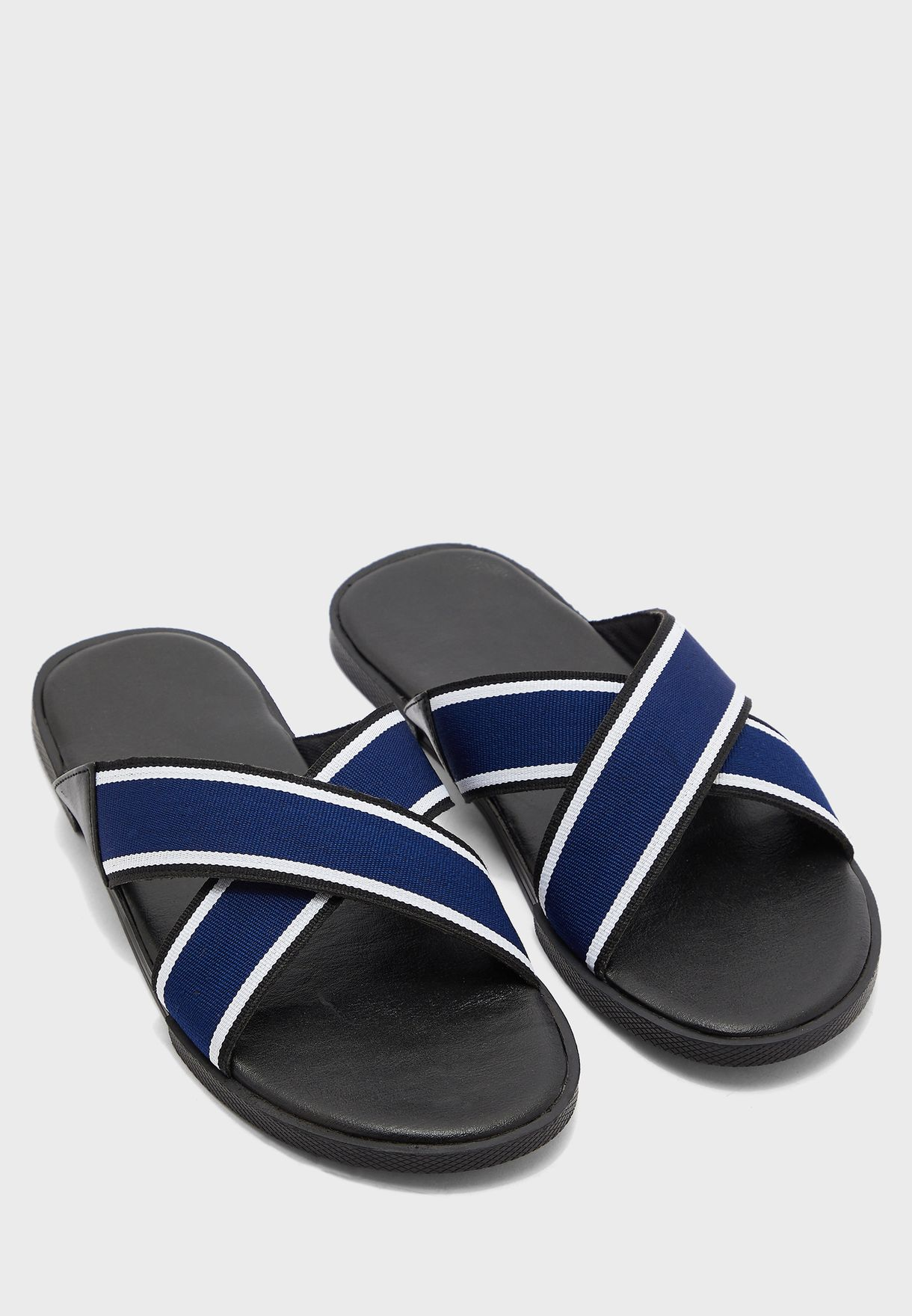 Cross Slides Sandals