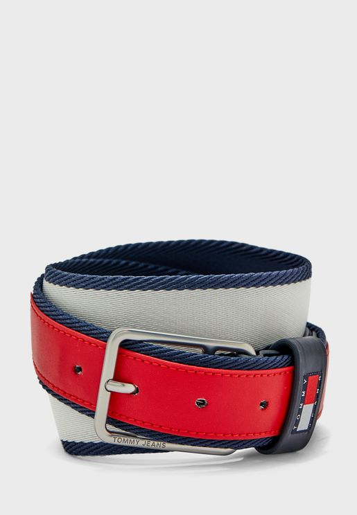 Elevated Heritage Webbing Belt